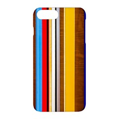Colorful Stripes Apple Iphone 8 Plus Hardshell Case by FunnyCow