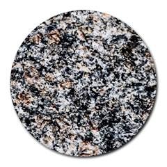 Granite Hard Rock Texture Round Mousepads