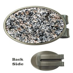 Granite Hard Rock Texture Money Clips (oval)  by FunnyCow