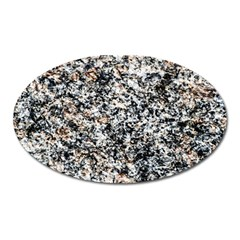 Granite Hard Rock Texture Oval Magnet by FunnyCow