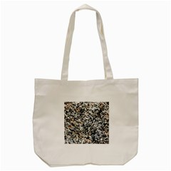 Granite Hard Rock Texture Tote Bag (cream) by FunnyCow