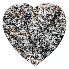Granite Hard Rock Texture Jigsaw Puzzle (heart) by FunnyCow