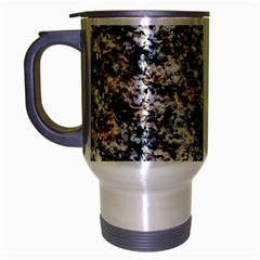Granite Hard Rock Texture Travel Mug (silver Gray)
