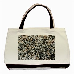 Granite Hard Rock Texture Basic Tote Bag (two Sides) by FunnyCow