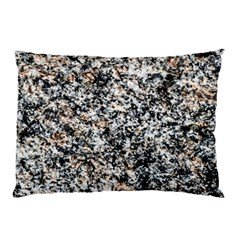 Granite Hard Rock Texture Pillow Case by FunnyCow