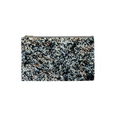Granite Hard Rock Texture Cosmetic Bag (small)  by FunnyCow