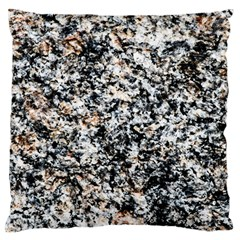 Granite Hard Rock Texture Large Cushion Case (one Side) by FunnyCow