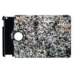 Granite Hard Rock Texture Apple Ipad 3/4 Flip 360 Case by FunnyCow