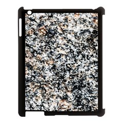 Granite Hard Rock Texture Apple Ipad 3/4 Case (black) by FunnyCow
