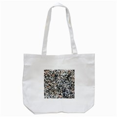 Granite Hard Rock Texture Tote Bag (white) by FunnyCow