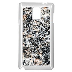 Granite Hard Rock Texture Samsung Galaxy Note 4 Case (white) by FunnyCow