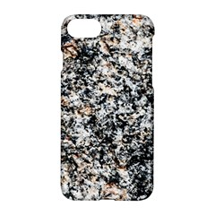 Granite Hard Rock Texture Apple Iphone 8 Hardshell Case by FunnyCow