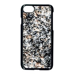 Granite Hard Rock Texture Apple Iphone 8 Seamless Case (black) by FunnyCow