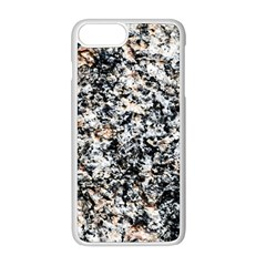 Granite Hard Rock Texture Apple Iphone 8 Plus Seamless Case (white) by FunnyCow