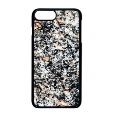 Granite Hard Rock Texture Apple Iphone 8 Plus Seamless Case (black) by FunnyCow