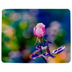 Pink Rose Flower Jigsaw Puzzle Photo Stand (rectangular)