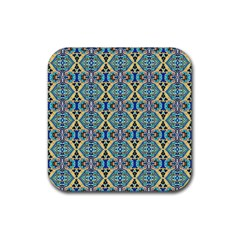 Artworkbypatrick1 19 Rubber Square Coaster (4 Pack)