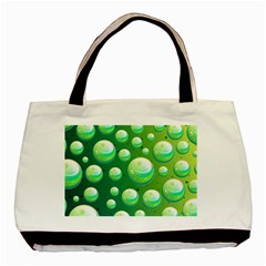 Background Colorful Abstract Circle Basic Tote Bag
