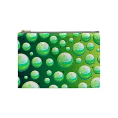 Background Colorful Abstract Circle Cosmetic Bag (medium)