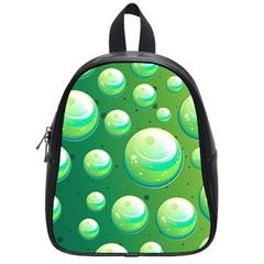 Background Colorful Abstract Circle School Bag (small)