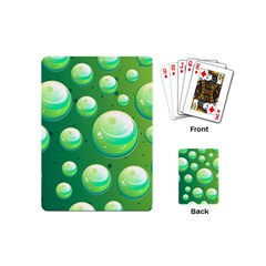 Background Colorful Abstract Circle Playing Cards (mini)