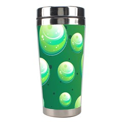 Background Colorful Abstract Circle Stainless Steel Travel Tumblers