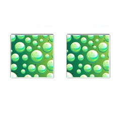 Background Colorful Abstract Circle Cufflinks (square) by Nexatart