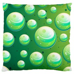 Background Colorful Abstract Circle Large Cushion Case (two Sides)