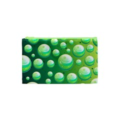 Background Colorful Abstract Circle Cosmetic Bag (xs)
