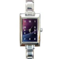 Abstract Form Color Background Rectangle Italian Charm Watch