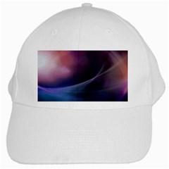 Abstract Form Color Background White Cap