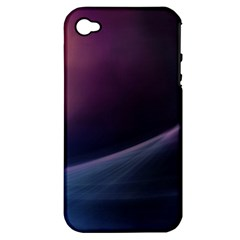 Abstract Form Color Background Apple Iphone 4/4s Hardshell Case (pc+silicone)