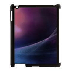 Abstract Form Color Background Apple Ipad 3/4 Case (black)