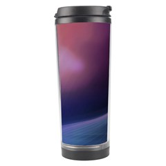 Abstract Form Color Background Travel Tumbler