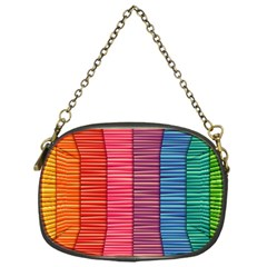Background Colorful Abstract Chain Purses (one Side)