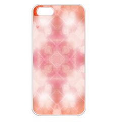 Heart Background Wallpaper Love Apple Iphone 5 Seamless Case (white)