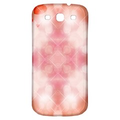 Heart Background Wallpaper Love Samsung Galaxy S3 S Iii Classic Hardshell Back Case