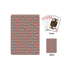 Background Abstract Colorful Playing Cards (mini)