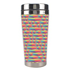 Background Abstract Colorful Stainless Steel Travel Tumblers