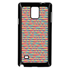 Background Abstract Colorful Samsung Galaxy Note 4 Case (black)