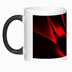 Abstract Curve Dark Flame Pattern Morph Mugs