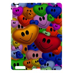 Heart Love Smile Smilie Apple Ipad 3/4 Hardshell Case