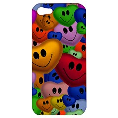 Heart Love Smile Smilie Apple Iphone 5 Hardshell Case