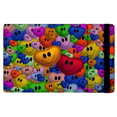 Heart Love Smile Smilie Apple Ipad 2 Flip Case