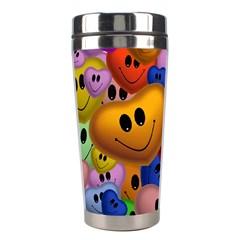 Heart Love Smile Smilie Stainless Steel Travel Tumblers