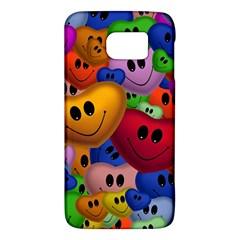 Heart Love Smile Smilie Samsung Galaxy S6 Hardshell Case