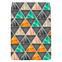 Abstract Geometric Triangle Shape Flap Covers (l)