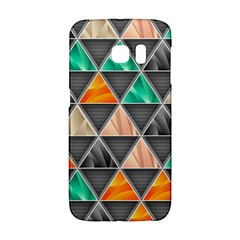Abstract Geometric Triangle Shape Samsung Galaxy S6 Edge Hardshell Case by Nexatart