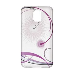 Abstract Background Flowers Samsung Galaxy S5 Hardshell Case