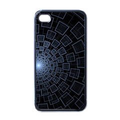 Pattern Abstract Fractal Art Apple Iphone 4 Case (black)